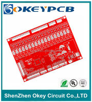 Shenzhen Red ENI/ HASL HDI PCB circuits supplier from China