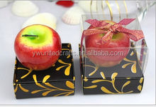 top selling handmade wax fruit candle for home decoration