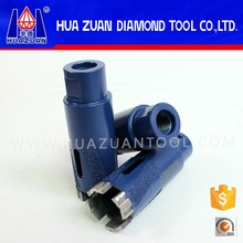 Diamond dry core drill bits for granite