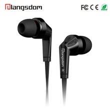 Langston HOT Low Cost Promotion Earphone with MIC for all 3.5mm Mobile Phones
