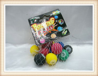 12pcs billiard ball bounce ball toy, rubber bouncing ball toy