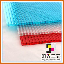 tinted polycarbonate sheet with uv-coat