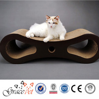 unique design cat scratcher/cardboard cat bed