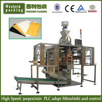 Absorbent Meat pad packing machine, Fish and Poultry Pad packing machine, Absorbent pad packaging machine