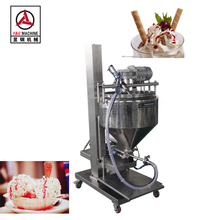 Semi Auto Lifting Type Ice Cream Filling Machine