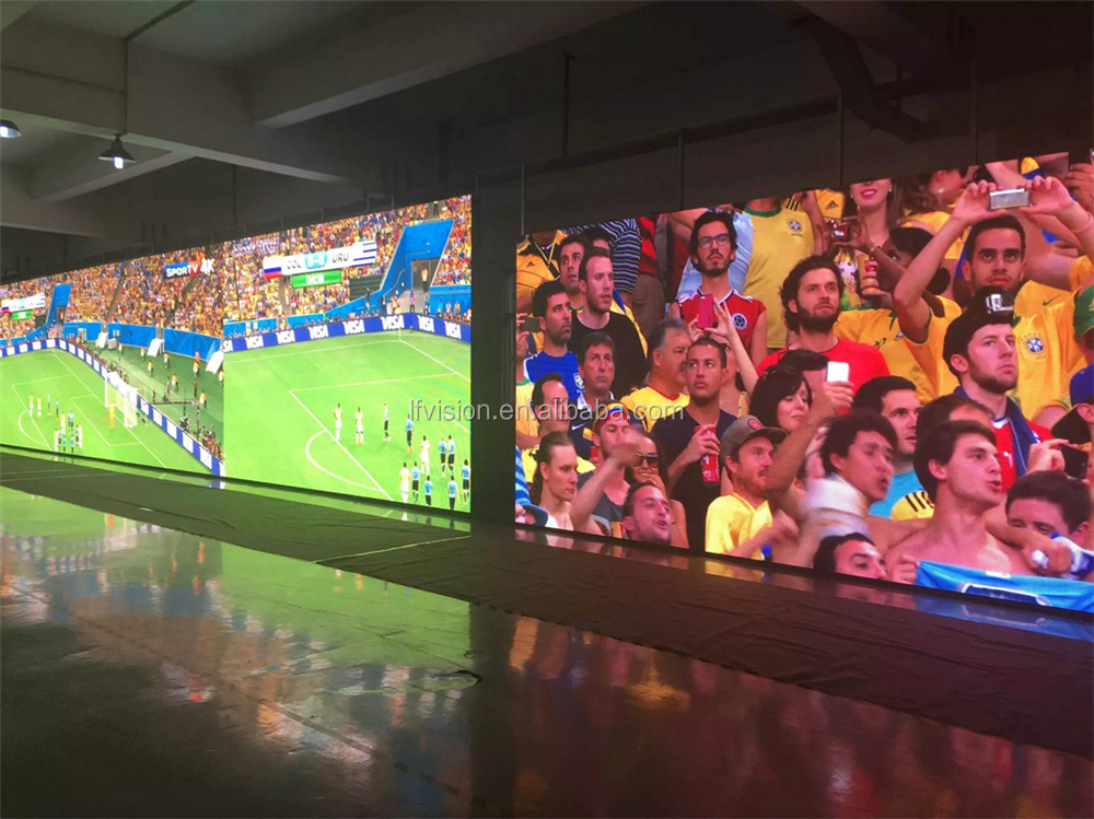 china high quality p10 stage background high resolution led displays /indoor p10 HD fixed video wall