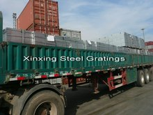 Steel Grating Galvanized Cut-to-size_transported to loading port
