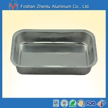 airline aluminum food tray for hot food