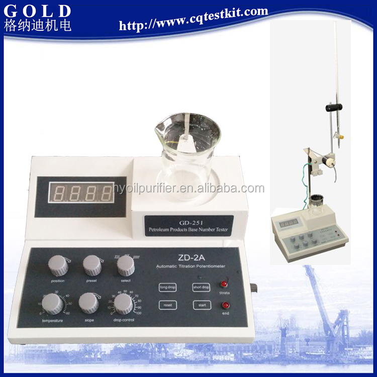 Petroleum Products Alkali Component Testing Alkali Content Tester