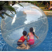 Popular Crazy Selling transparent round water walking ball