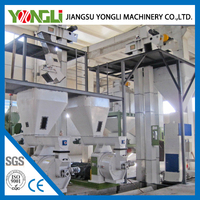 Leading China producer Large capacity rice husk wood pellet mill