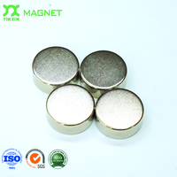 N50 10000 gauss neodymium large 1 inch cylinder magnets for sale