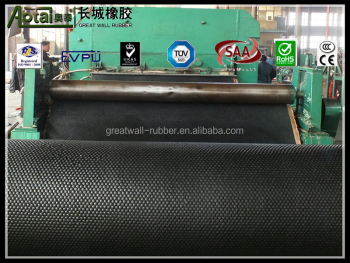 Great Wall Factory Customized Special Industrial Fire Resistance Rubber sheet rubber products 3MM