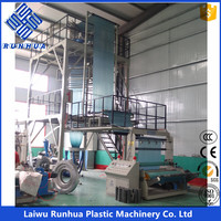 five layer grass silage film blowing machine