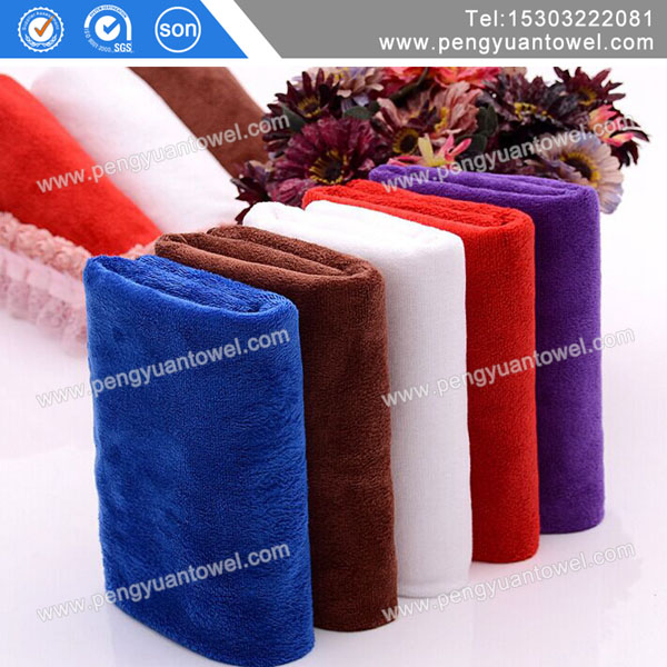 Washing towel deerskin textile absorption dry hair towel fabric