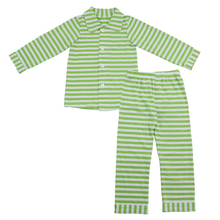 Kaiyo clothing manufacturers hot sleepwear! winter boutiques for kids striped sleep wear cotton pjs baby pajama
