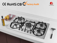 5 burners Built-in stainless steel gas hob/YG-5GA119