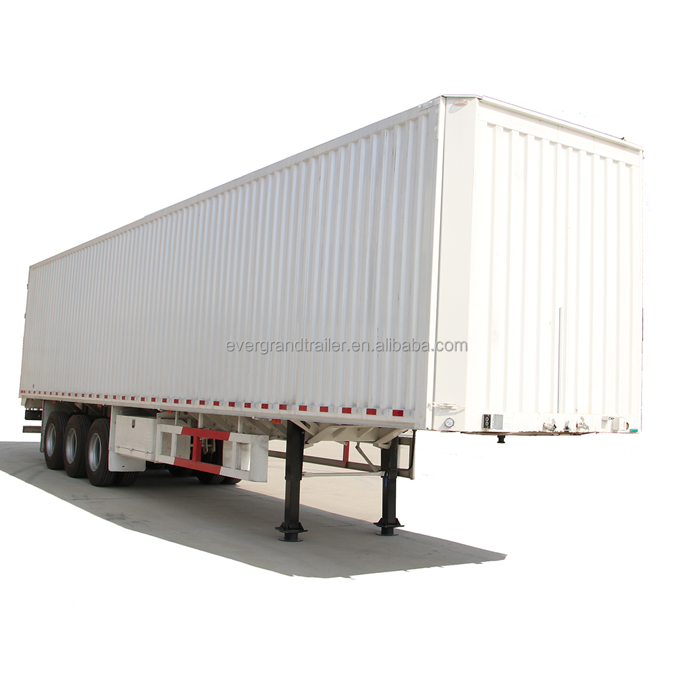3 axles special wingspan trailer vans box semitrailer for goods transport