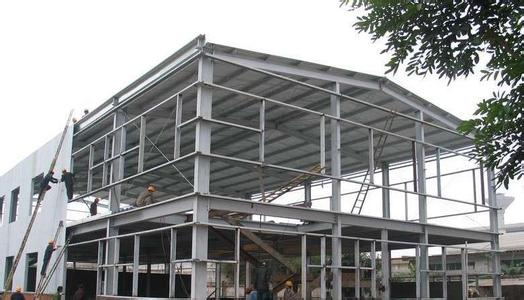 heavy steel frame structure workshop