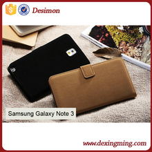 fancy Soft Touch Wallet PU Leather Case for Samsung Galaxy Note 3