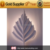 MS66032 Artistic ceiling gypsum lamp fitting