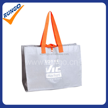 laminated pp woven reusable shopping bag,tote bag