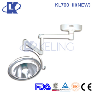 KL700-III two head battery operation light AC/DC Integration Reflection Operating Lamp Ceiling Surgical Operation Lamp