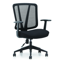 BIFMA Office Commercial Lift Swivel Mesh and Fabric Staff Chair