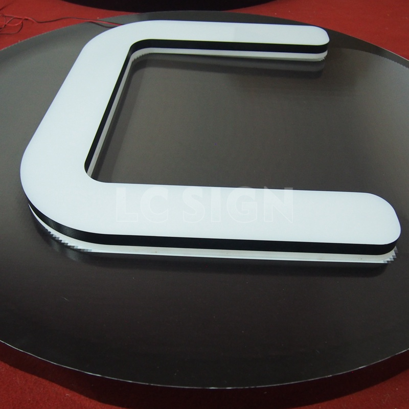 Custom made block letters LED big letter standing sign,acrylic free standing letters,popular led big letter sign