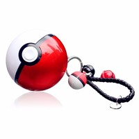 Micro USB cable portable keychain pokeball power bank charger