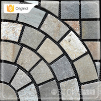 Decorative Garden Yellow Slate Flag Stone Paving Slate Stepping Stone