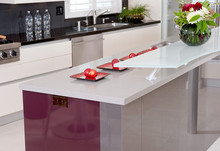 Durable epoxy resin polymer countertops
