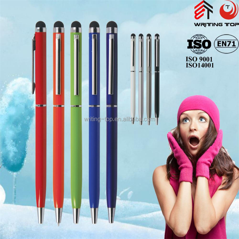 2016 custom metal ballpoint pen with logo