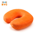 BYC Durable Personalized Multiple Pattern Soft Velour Cover Travel Neck Pillow