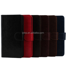 New Magnetic Flip Stand PU Leather + TPU Cover Case for Samsung Galaxy S5 I9600 Phone Case Paypal Accept