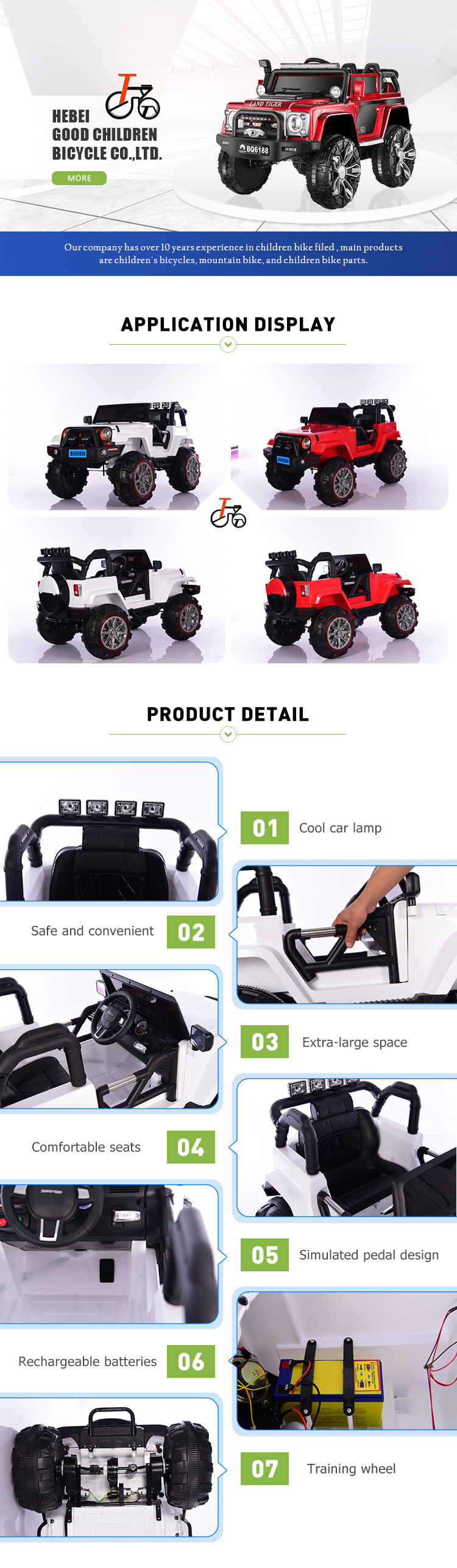 China Factory Wholesale Cheap Price Ride On Car Battery Operated Kids Baby Car