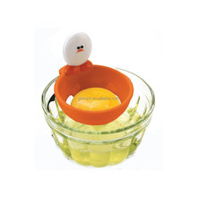 Plastic Egg Separator Yolk filter 2 Pcs Egg white separator Suspension design egg separator