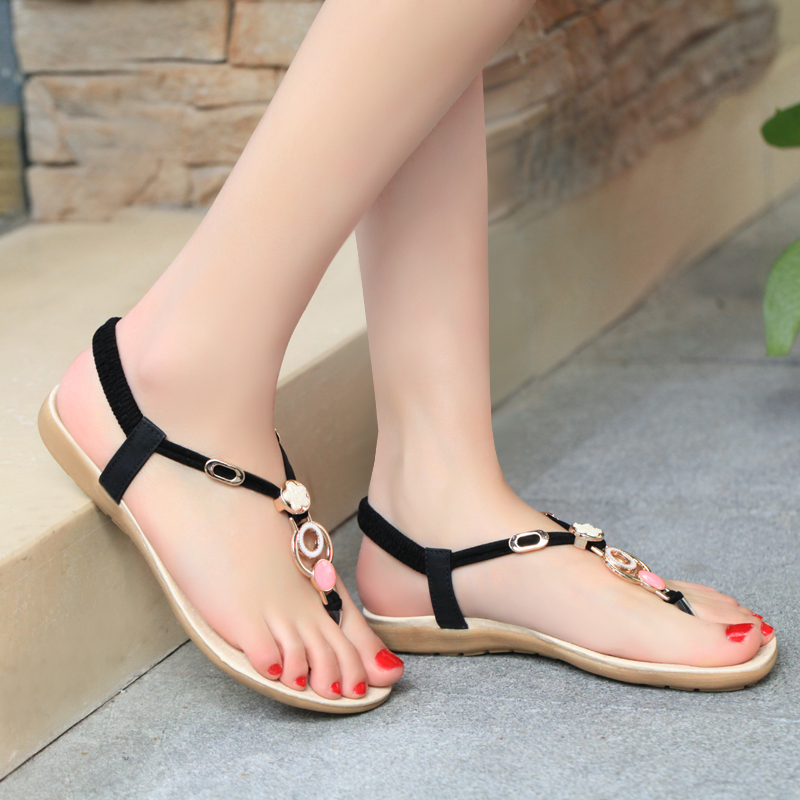 Fashion colors second hand shoes for lady