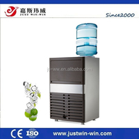 portable home mini ice cube maker with water dispenser/ice maker with water cooler