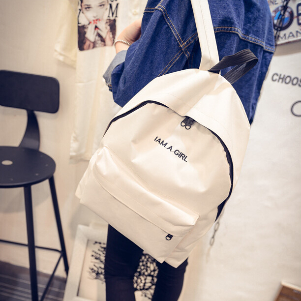 Plain White Backpack Wholesale Sports Backpack