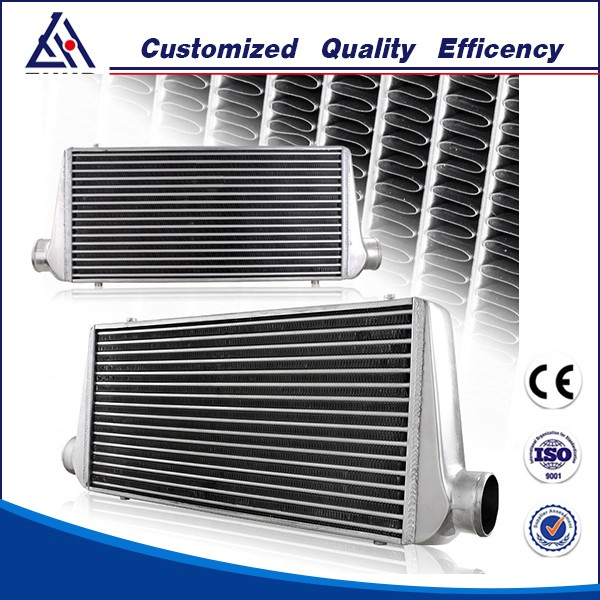 High Performance Fin Tube Heat Exchanger Aluminum Intercooler Turbo