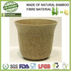 new factory making cheap eco bamboo fibre bio friendly flower pots, indoor garden plant holder