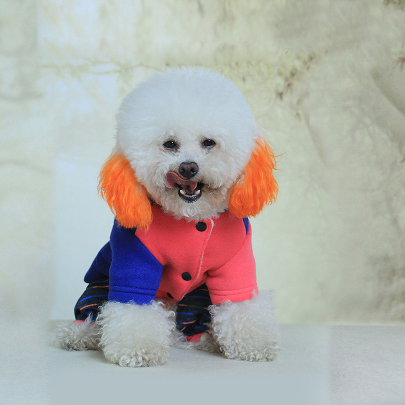 2017 best-selling pet four legs clothes Fashion design winter thick coat High quality dog clothes