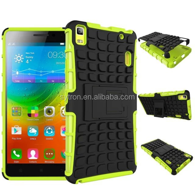 TPU+PC case for lenovo a390 phone case