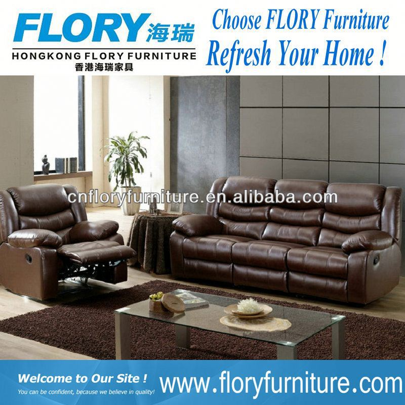 2013 Top Quality lazy boy leather recliner sofa In Leather