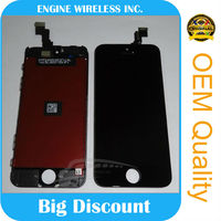 genuine brand new for iphone 5c lcd display screen new products on china market