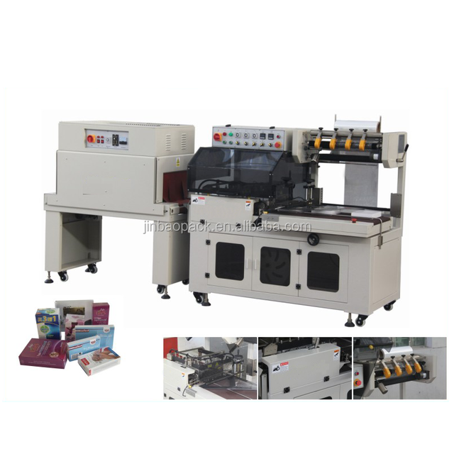Heat Oven Tunnel Thermal Shrink Wrapping Packing Machine