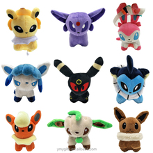 Cheap wholesale cute plush pokemon eevee family <strong>toys</strong>