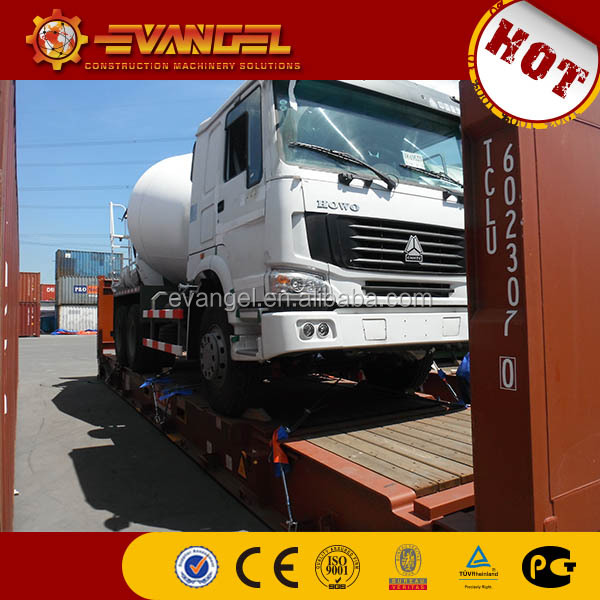 concrete pan mixer price LIUGONG brand concrete mixer truck on sale