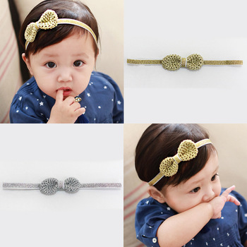 MS70047W New arrival kids girls bownot hair band